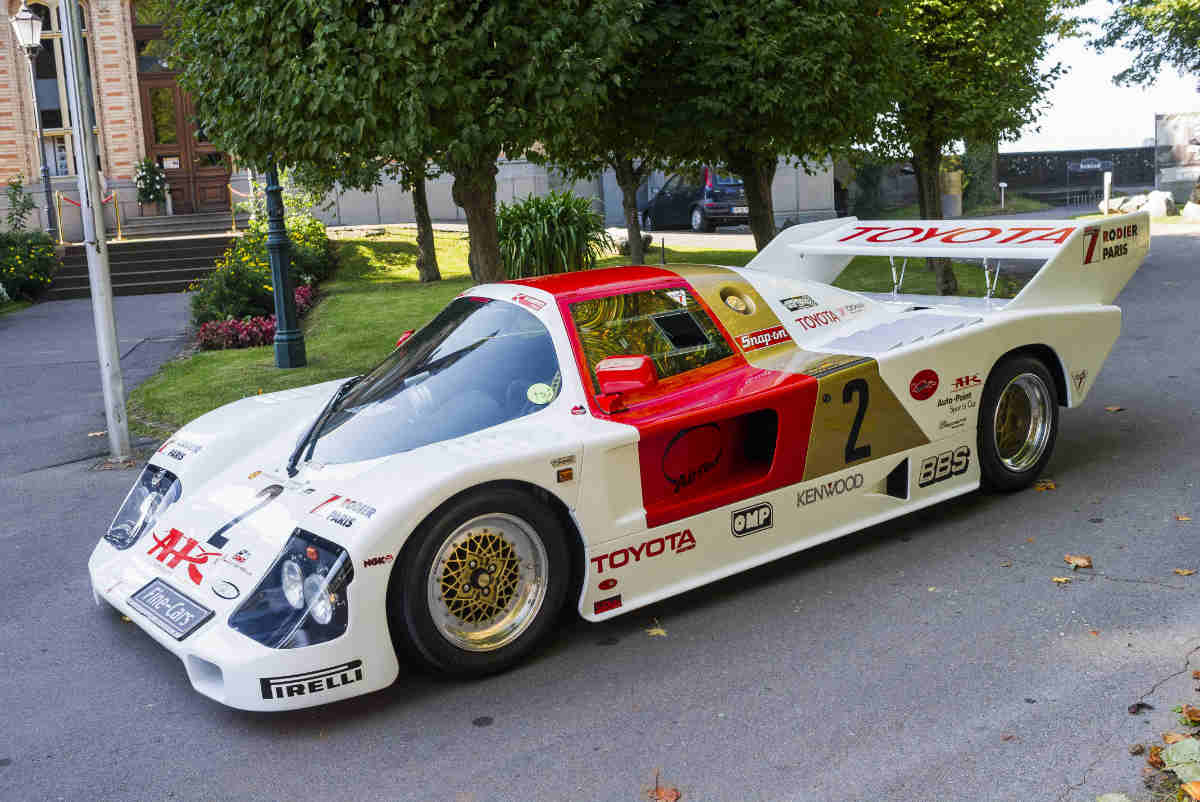 Toyota Gruppe C Le Mans GTM (1986)