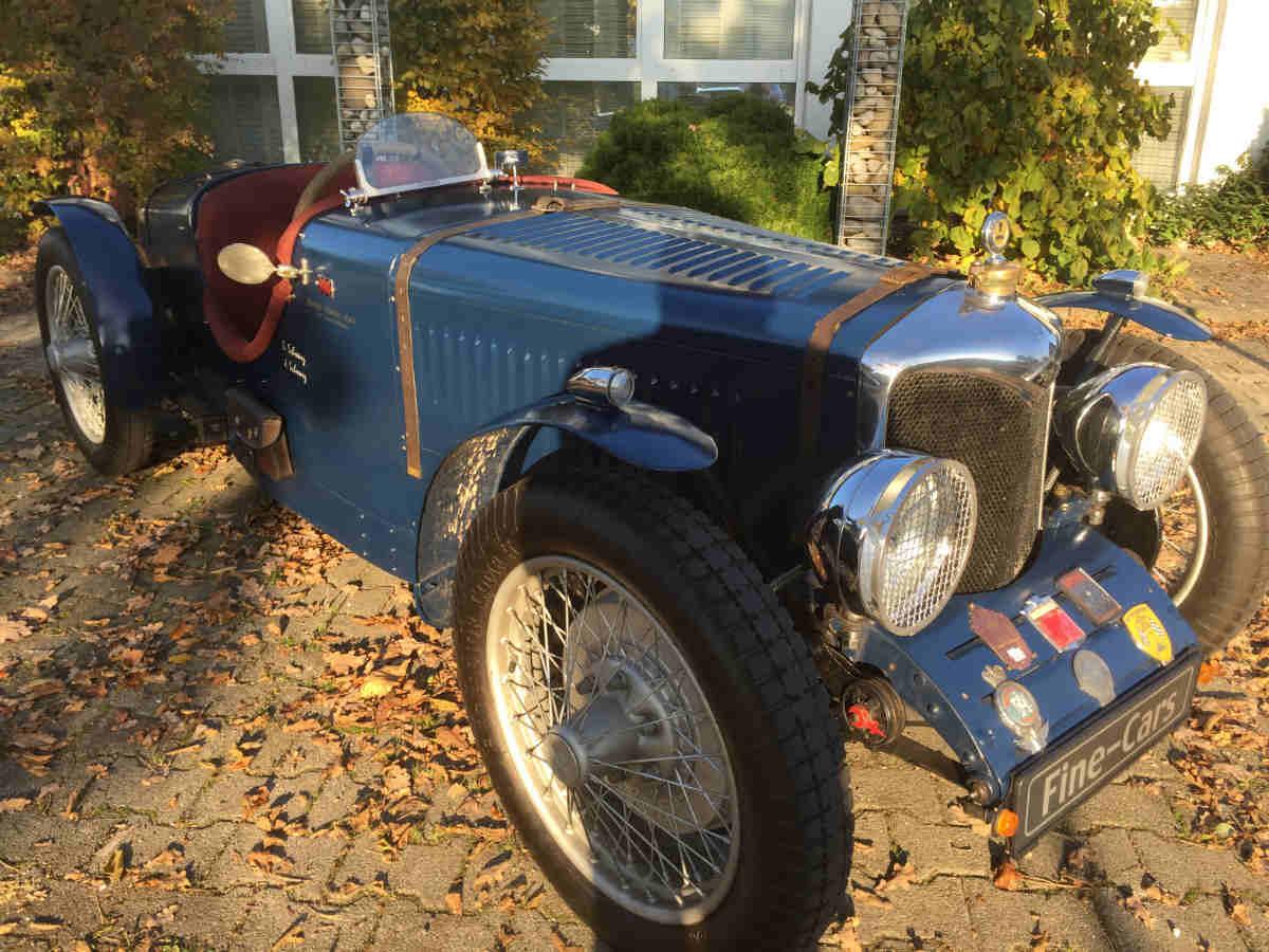Riley Nine Brooklands Speed Model (1932) orig.Rennwagenchassis